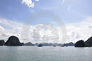 Halong Bay Sea View Royalty Free Stock Photo - Image: 15544815