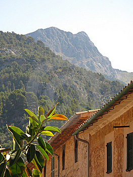 A Landscape In Mallorca Royalty Free Stock Photo - Image: 15548405