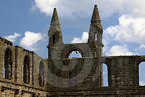 Ruins Of St. Andrews Royalty Free Stock Images - Image: 15554519