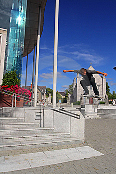Skate Boarding UCC Royalty Free Stock Photos - Image: 15555828