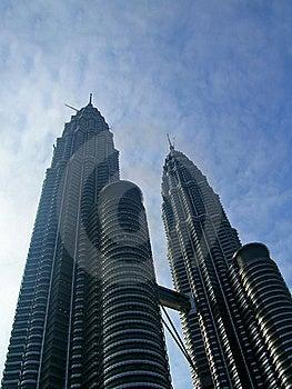 Twin Towers (Petronas) Stock Photos - Image: 15561113