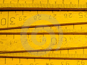 Zigzag Rule. Stock Images - Image: 15563134