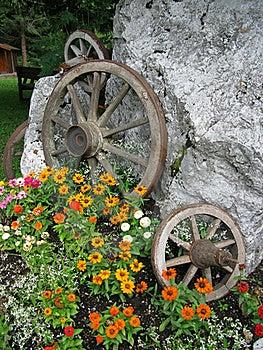 Wooden Wheels Stock Photo - Image: 15564320
