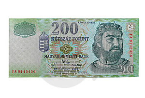 Hungarian Forint - HUF (200) Royalty Free Stock Images - Image: 15565749