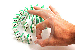 Domino Royalty Free Stock Images - Image: 15565769
