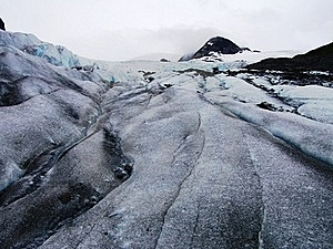 View Of Alaska Ice Sheets And Glaciers Stock Photo - Image: 15567100
