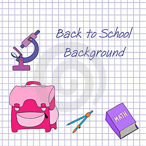 Back To School Background Royalty Free Stock Images - Image: 15568709