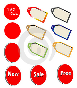 Marketing Tags Royalty Free Stock Images - Image: 15570859