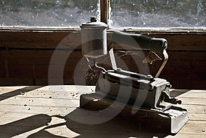 Antique Steam Iron Stock Photo - Image: 15572400
