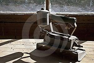 Antique Steam Iron Stock Photo - Image: 15572400