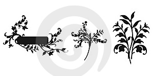 Abstract Floral Ornament Royalty Free Stock Image - Image: 15574356