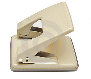 Beige Puncher Stock Photography - Image: 15575002