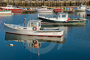 Fishing Boats In Harbor Stock Photography - Image: 15576682
