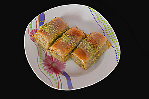 Turkish Baklava Stock Image - Image: 15577831
