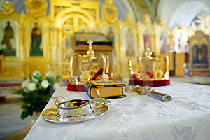 Orthodox Wedding Objects Royalty Free Stock Image - Image: 15577976