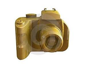 3d Render Of DSLR Camera Royalty Free Stock Photos - Image: 15583468