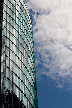 Modern Building And Reflecting Windows, Berlin Stock Photos - Image: 15586173