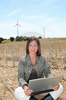Agriculture And Wine Turbines Stock Photography - Image: 15586482