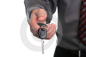 Hand With Key Royalty Free Stock Image - Image: 15591776