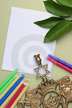 Menorah Stock Image - Image: 15591851