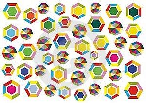 Decoración De Los Polígonos Imágenes de archivo libres de regalías - Imagen: 15593969