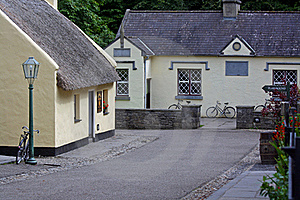 Bunratty Main Street Stock Photos - Image: 15594073