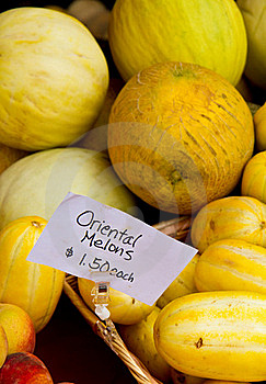 Oriental Melons Royalty Free Stock Images - Image: 15594879