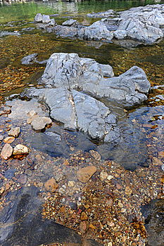 Pristine Rocky River Royalty Free Stock Photography - Image: 15595517