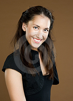 Beautiful Portrait Of The Girl Royalty Free Stock Images - Image: 15596849