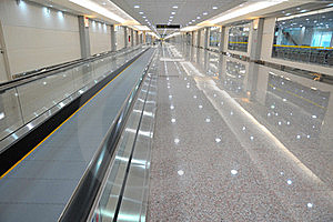 Escalator For Easy Transport Royalty Free Stock Image - Image: 15597896