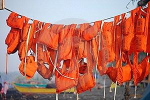 Life Jackets Stock Image - Image: 15598431