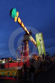 Fair Ride Stock Photography - Image: 1560992