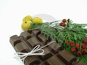 Chriastmas Chocolate Stock Photo - Image: 1566460