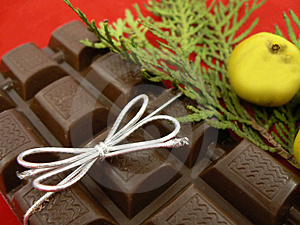 Christmas Chocolate Royalty Free Stock Photo - Image: 1566515