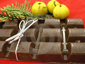 Christmas Chocolate Royalty Free Stock Photography - Image: 1566527