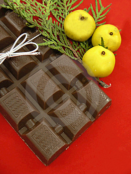 Christmas Chocolate Stock Image - Image: 1566541