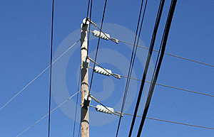 Electric Utility Pole Stock Photos - Image: 1567943
