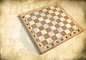 Chessboard Wood Royalty Free Stock Photos - Image: 15600368