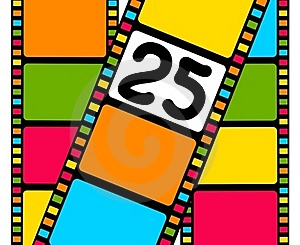 Blank Film Colorful Strip Royalty Free Stock Photography - Image: 15607277