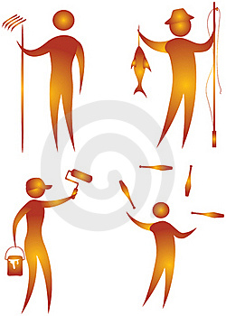 Illustrative Icon Stock Photos - Image: 15610823