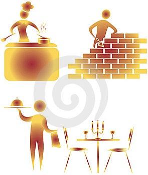 Illustrative Icon Stock Photography - Image: 15610832