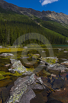 Consolation Lakes In Banff Stock Photo - Image: 15613110