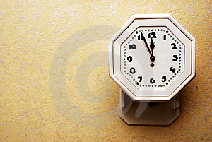 Old Clock Royalty Free Stock Photo - Image: 15613425