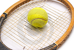 Old Racket Stock Photography - Image: 15614202