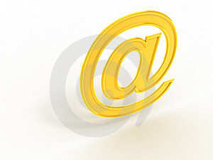 Email Symbol Royalty Free Stock Images - Image: 15614879