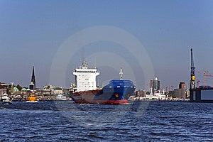 Hamburg Harbor Stock Image - Image: 15615711
