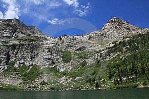 Mountain Lake Royalty Free Stock Photos - Image: 15620348