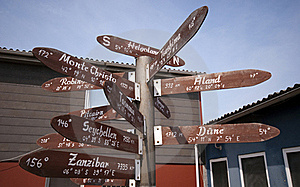 Signs To Everywhere Royalty Free Stock Photo - Image: 15620995