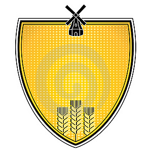 Grain Emblem Royalty Free Stock Image - Image: 15620996