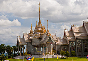 Hall Of Arts In Thai Temples. Stock Photos - Image: 15623223